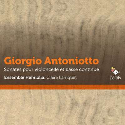 GIORGIO ANTONIOTTO: SONATA NO.4 RE MINEUR, 4.VIVACE - ENSEMBLE HEMIOLIA