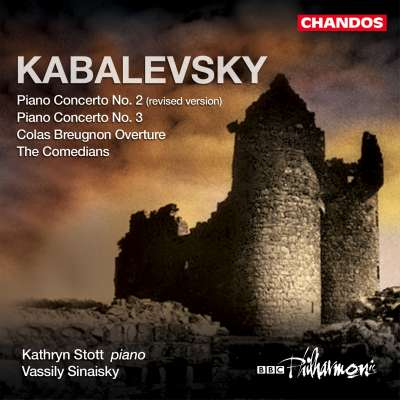 KABALEVSKY: PIANO CONCERTOS NOS. 2 AND 3, COLAS BREUGNON OVERTURE, THE COMEDIANS