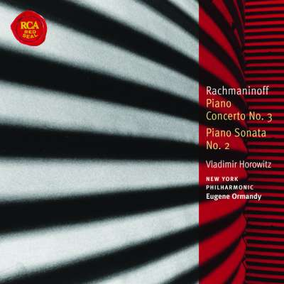 S. RACHMANINOFF: PIANO CONCERTO NO.3 IN D MINOR, OP.30, 1.ALLEGRO MA NON TANTO - EUGENE ORMANDY, NEW YORK PHILHARMONIC