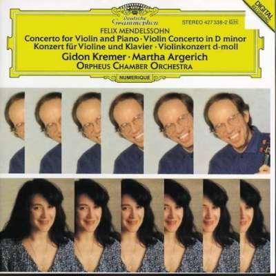 Felix Mendelssohn: Concerto Viloin And Piano - Violin Concerto In D Minor