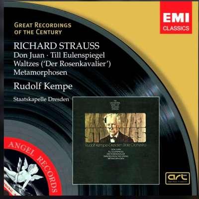 Richard Strauss: Don Juan, Till Eulenspiegel, Walzer, Metamorphosen