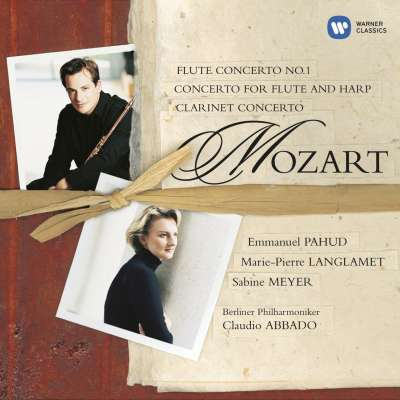 Mozart: Flute, Flute and Harp and Clarinet Concerti