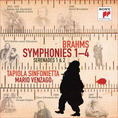 Brahms: Symphonies Nos. 1-4, Serenades Nos. 1 and 2