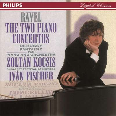 M. RAVEL: PIANO CONCERTO IN D FOR THE LEFT HAND 3. TEMPO 1 - IVAN FISHER, BUDAPEST FESTIVAL ORCHESTRA