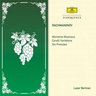 Rachmaninov: Moments Musicaux · Corelli Variations · Six Preludes
