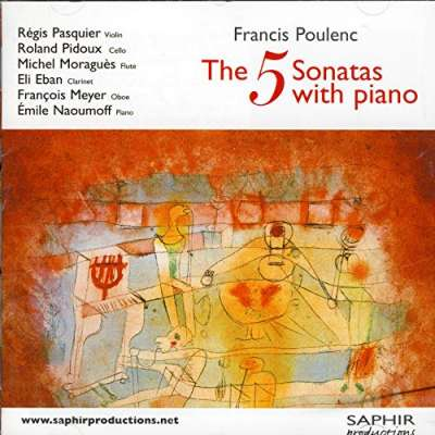 Francis Poulenc - The 5 Sonatas With Piano