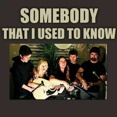 SOMEBODY THAT I USED TO KNOW (COVER)