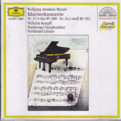 Wolfgang Amadeus Mozart Piano Concerto No. 23 and No. 24