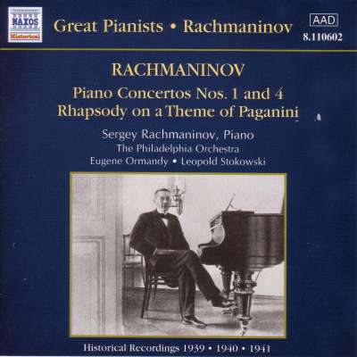 Rachmaninov: Piano Concertos Nos. 1 and 4