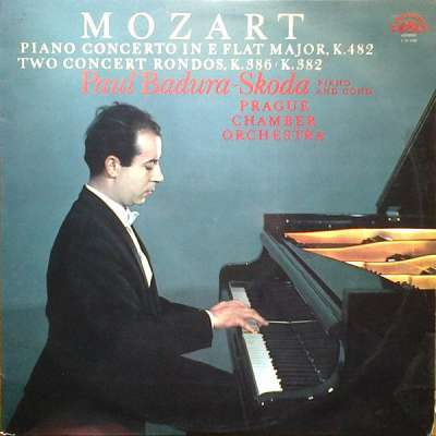 W.A. MOZART: PIANO CONCERTO IN E FLAT MAJOR, K.482 (ADAPTED BY  PAUL BADURA-SKODA, CHARLES MACKERRAS) 1. ALLEGRO - PRAGUE CHAMBER ORCHESTRA