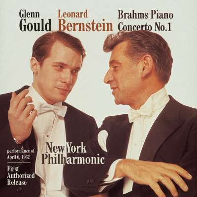 J. BRAHMS: CONCERTO FOR PIANO AND ORCHESTRA NO. 1 IN D MINOR, OP. 15, 2. ADAGIO - LEONARD BERNSTEIN, NEW YORK PHILHARMONIC
