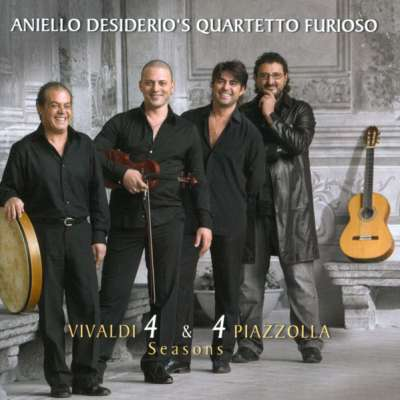 Aniello Desiderio's Quartetto Furioso ‎- Vivaldi 4 and 4 Piazzolla Seasons