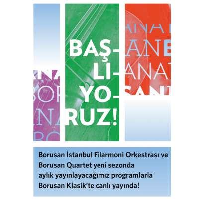 BORUSAN SANAT 2020-21 Sezon Konserleri - Canlı Yayın - Borusan Oto İstinye 9.55 Salonu