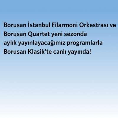 Borusan Quartet 2020-21 Sezon Koserleri - Canlı Yayın - Borusan Müzik Evi