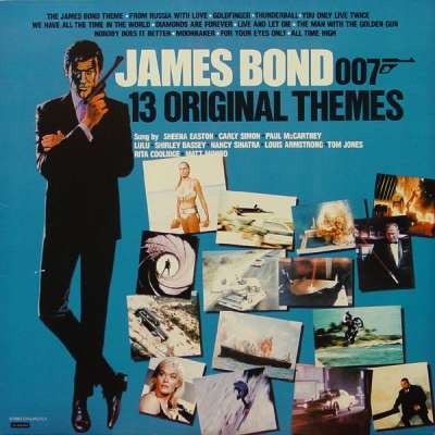 James Bond 007 13 Original Themes