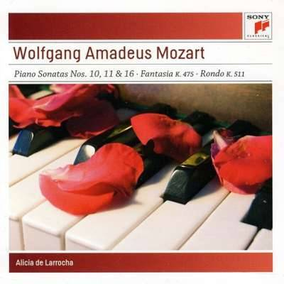 Mozart: Piano Sonatas Nos. 10, 11 and 16