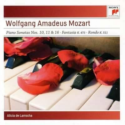 Mozart: Piano Sonatas Nos. 10, 11 and 16
