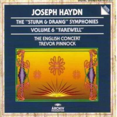 THE STURM AND DRANG SYMPHONIES