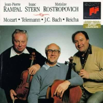 Mozart, Telemann, Reicha, J. C. Bach - Reicha : Trios for Flute, Violin and Cello