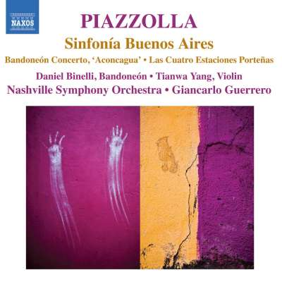 Piazzolla: Sinfonia Buenos Aires, Aconcagua, 4 Seasons of Buenos Aires