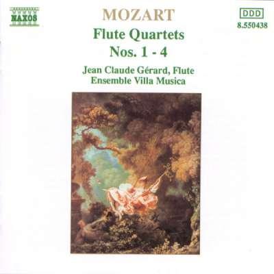 Mozart: Flute Quartets Nos. 1- 4