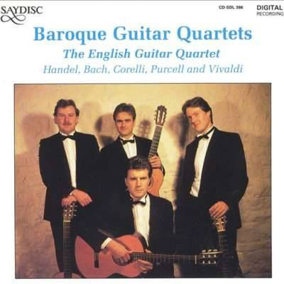 Baroque Guitar Quartets
