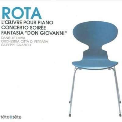ROTA: L'OEUVRE POUR PIANO; CONCERTO SOIRÉE; FANTASIA DON GIOVANNI