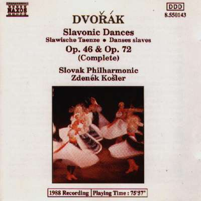 Dvorak: Slavonic Dances, Op. 46 and Op. 72