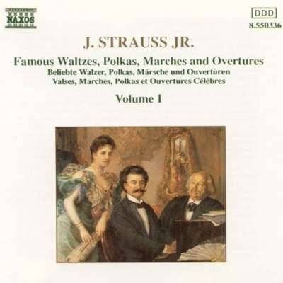 Johann Strauss Jr.: Famous Waltzes, Polkas, Marches and Overtures