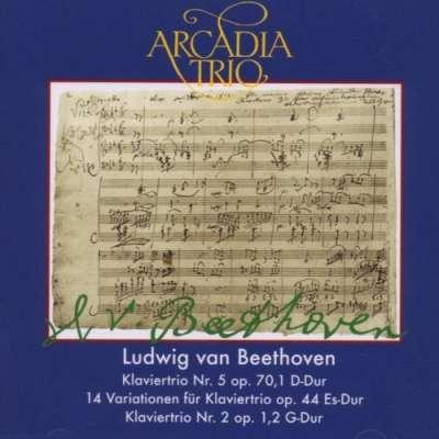 Ludwig van Beethoven: Klaviertrios op. 70,1, op. 44, op. 1,2