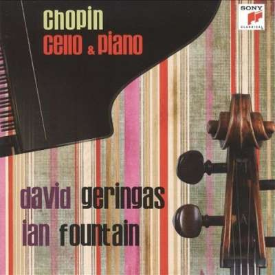 Chopin Cello and Piano, David Geringas, Ian Fountain