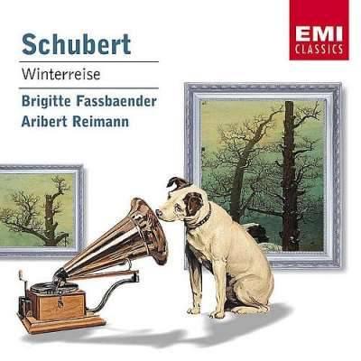 Schubert: Winterreise /Brigitte Fassbaender, Aribert Reimann