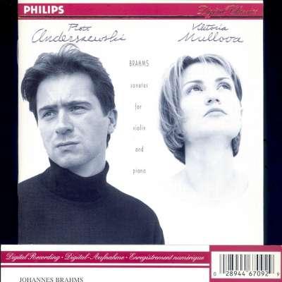 Brahms: Complete Violin Sonatas - Anderszewski / Mullova
