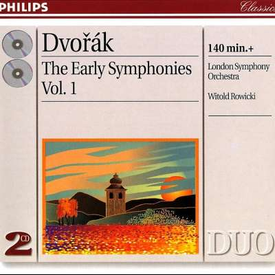 Dvorak: The Early Symphonies Vol 1