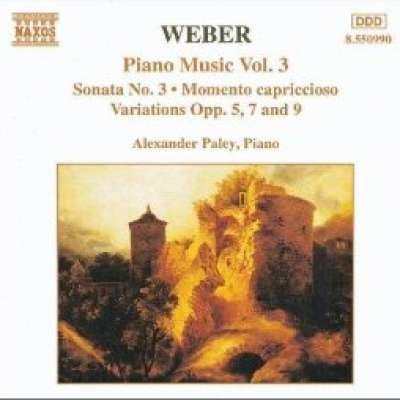 Weber: Piano Music, Vol. 3 (887)