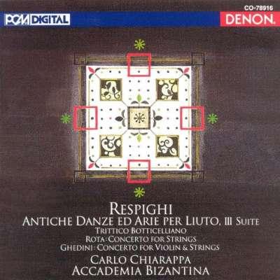 Respighi - Antiche Danze Ed Arie Per Luto, Suite 3