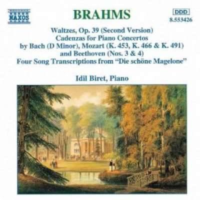 Brahms: Waltzes, Cadenzas, Die Schone Magelone