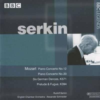 Mozart: Piano Concerto No. 12; Piano Concerto No. 20 Etc.