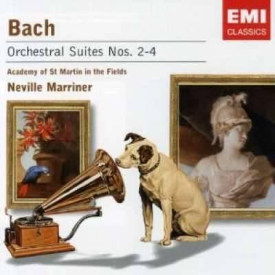 Bach - Orchestral Suites No 2-4