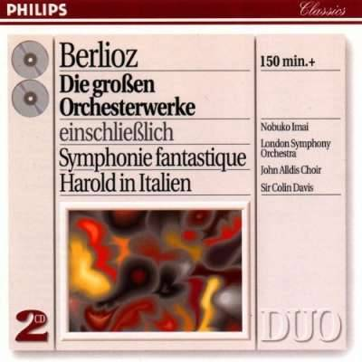 Berlioz: Great Orchestral Works / Davis, London SO