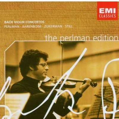 The Perlman Edition: Bach Violin Concertos