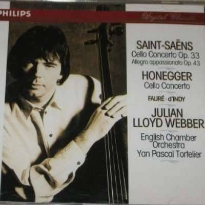 Saint-Saens and Honegger Cello Concertos