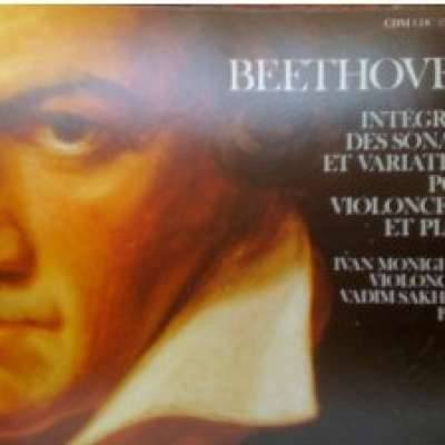 Beethoven:Cello Sonatas;Variations