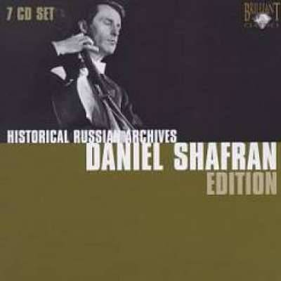 HISTORICAL RUSSIAN ARCHIVES: DANIEL SHAFRAN EDITION