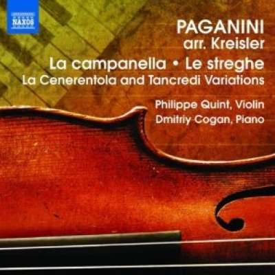 Paganini: Arrangements for Violin and Piano by Fritz Kreisler