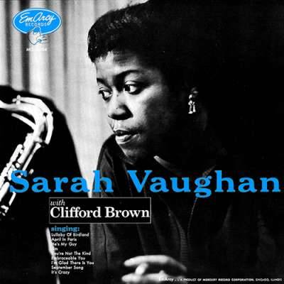 Sarah Vaughan and Clifford Brown