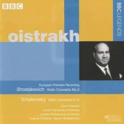 Shostakovich: Violin Concerto No. 2; Tchaikovsky: Violin Concerto