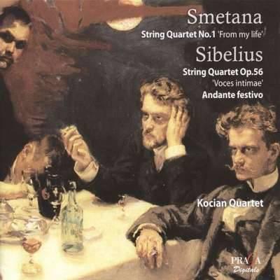 Smetana, Sibelius: String Quartets - Kocian Quartet
