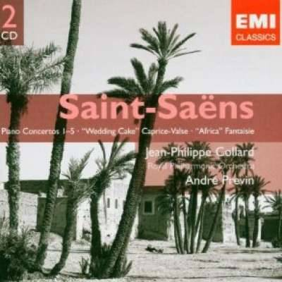 Saint - Saens Piano Concertos Wedding Caprice Valse