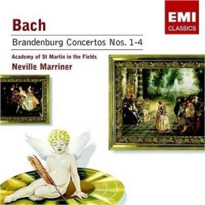 Bach: Brandenburg Concertos No. 1-4